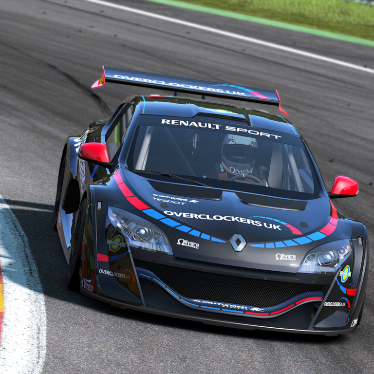 Overclockers UK livery in Project CARS!