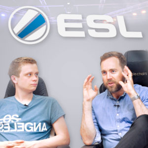 We talk to ESL about the future of esports!