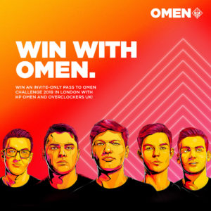 Enter & Win Invite-Only Tickets for the HP OMEN Challenge 2019!