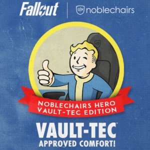 A detailed look at the must-have gaming chair for Fallout fans: