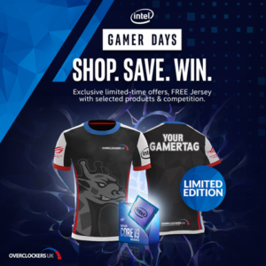 Get great deals, win prizes and get your hands on exclusive merch with Intel Gamer days