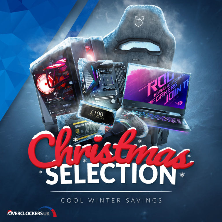 The best hardware in the Overclockers UK Christmas Selection