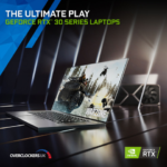 New RTX 30 Series laptops provide the best portable gaming experience