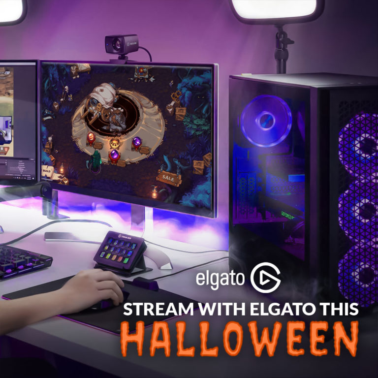 Stream the Best New Games with Elgato this Hallowe'en