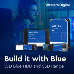 Build it with Blue for Excellent Storage Performance